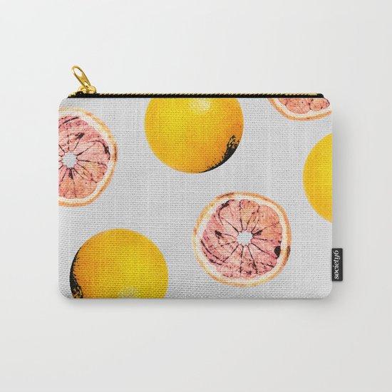 Grapefruit Pattern #society6 #decor #buyart Carry-All Pouch