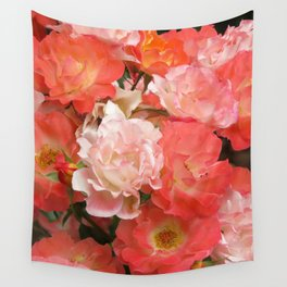 Roses that Knock You Out Wall Tapestry