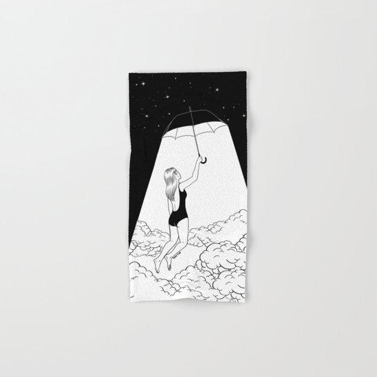 Fly me to the moon Hand & Bath Towel