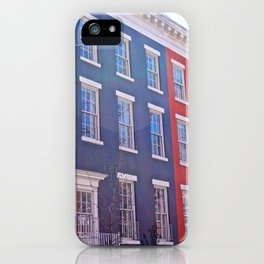 Colourful Streets Greenwich Village, NYC iPhone Case