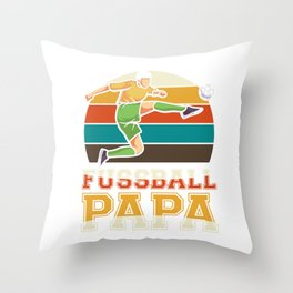 Soccer dad - soccer player father's day Throw Pillow