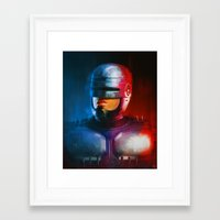 cyclops Framed Art Prints featuring CYCLOPS by John Aslarona