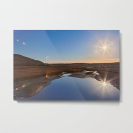Twin Suns of Point Reyes Metal Print