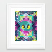 the national Framed Art Prints featuring National Geometric by Jacob Overway