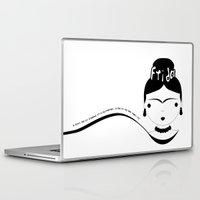 frida Laptop & iPad Skins featuring Frida by stavrina inno