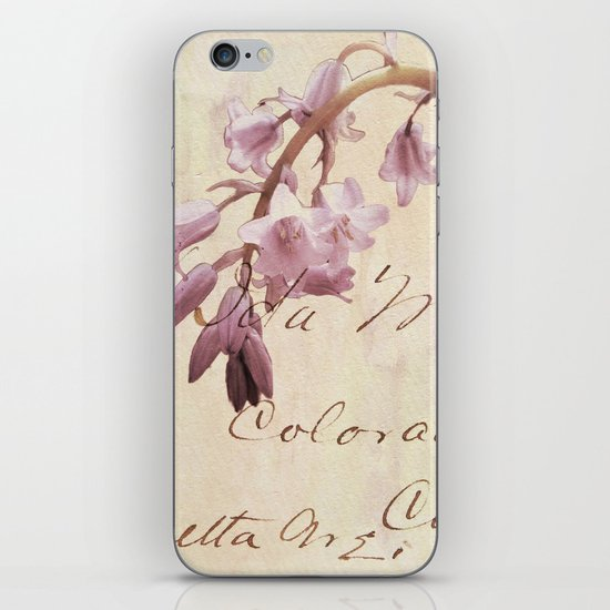 A Letter For You iPhone & iPod Skin