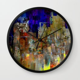 Let's Keep Smiling Wall Clock