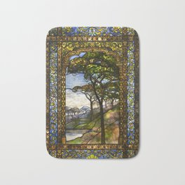 Louis Comfort Tiffany - Decorative stained glass 14. Bath Mat