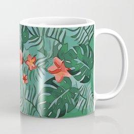 Exotique Floral Design Coffee Mug