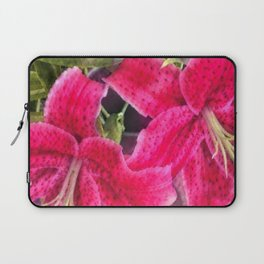 Pink Lilies Laptop Sleeve