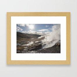 Thermal Mist Framed Art Print