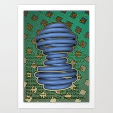 Public Encryption Art Print