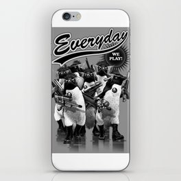 EVERYDAY WE PLAY iPhone Skin