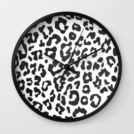 minimalist animal print Wall Clock