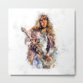 Guitar Emotions Metal Print