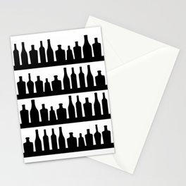 Classic Bottles Stationery Cards