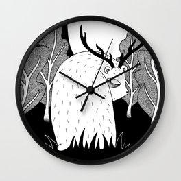 Complexes of a pre-hibernational bear Wall Clock