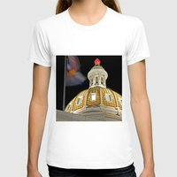 denver T-shirts featuring Denver Capitol  by Andrew C. Kurcan