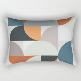 Mid Century Geometric 11 Rectangular Pillow