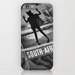 retro classic South Africa poster iPhone Case