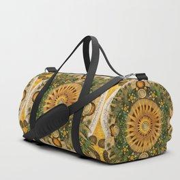 """""""Floral Aztec calendar"""" Duffle Bag"""