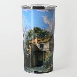 """François Boucher """"Mill at Charenton"""" Travel Mug"""