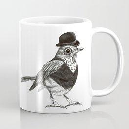 Dapper Thrush Coffee Mug
