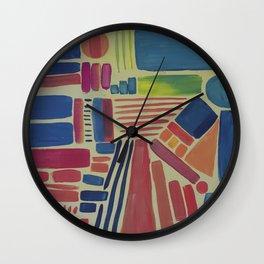 Inner city | Wall Clock