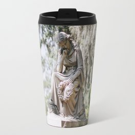 Bonaventure Cemetery - Statue of Eliza Wilhelmina Theus III Travel Mug