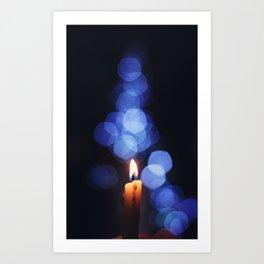 Silent Night Art Print