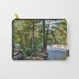 Guadalupe River in Gruene Texas Carry-All Pouch
