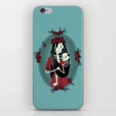 Skeleton Mother & Child - Dia de los Muertos iPhone & iPod Skin