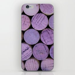 Red Wine Corks 3 iPhone Skin