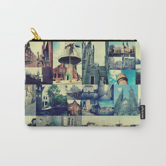 Photo collage Delft 5 Carry-All Pouch