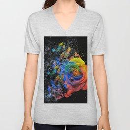 Just a Rose Unisex V-Neck