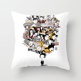 Quentin´s World Throw Pillow