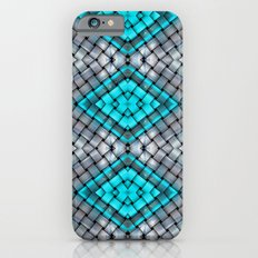 Blue eyes watching over you iPhone 6s Slim Case
