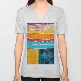 Beach Active Balmy Blazing Blistering Breezy Carefree Clammy Cloudless Comfortable Cool Dank Unisex V-Neck