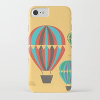 hot air balloons iPhone & iPod Cases featuring Hot Air Balloons by Marina Design