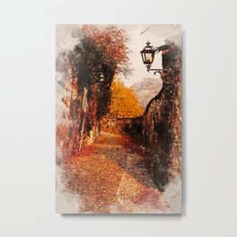 An Autumn full of Magic Metal Print
