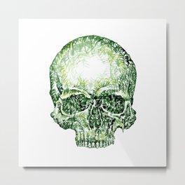 Tropical Skull ! Metal Print