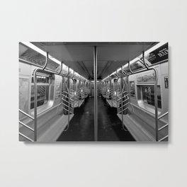C Train last stop Metal Print