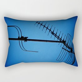Wires Crossed Rectangular Pillow