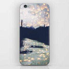 Make a wish -Yoho National park iPhone Skin