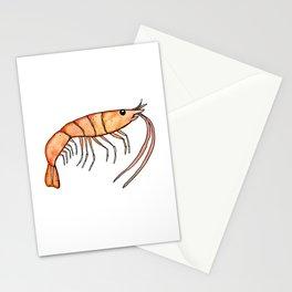 Prawn: Fish of Portugal Stationery Cards