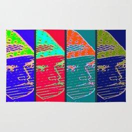 Rainbow Fighter Rug