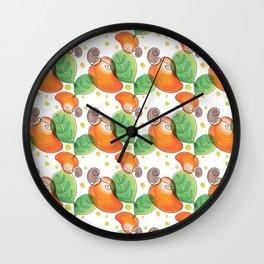 Cashew Wall Clock