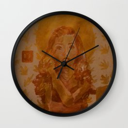 Holy Girls #4 Wall Clock