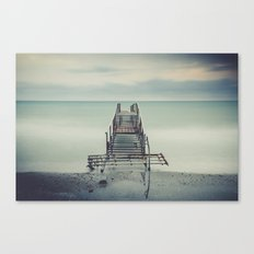 Tranquil Blues Canvas Print