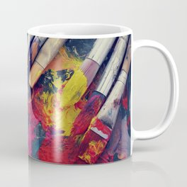 Paintbrushes  Coffee Mug